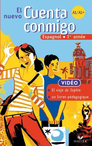 El Nuevo Cuenta Conmigo Espagnol 1re Annee - Cassette Video, ed. 2007 par Laluque-V+Palomo-Am+