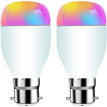 sipailing smart light bulbs work with alexa google home and ifttt dimmable wifi led smart bulb. Black Bedroom Furniture Sets. Home Design Ideas