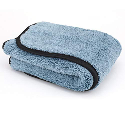 Super-Spessa-Auto-In-Microfibra-Di-Peluche-Panno-Secco-Ed-Umido-Rimuovi-Polvere-Di-Sporcizia-Auto-Che-Pulisce-Asciugamano-Asciugamano-Buona-Assorbimento-dAcqua