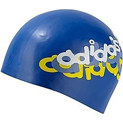 Adidas gorro de baño Z34001 Cap azul silicio sombrero flotante