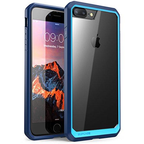Funda para Apple iPhone 7 Plus, Carcasa para Apple iPhone 8 Plus, i-Blason Silicone Serie [flexible][amortigua golpes] para Apple iPhone 7 Plus 2016/ Apple iPhone 8 Plus 2017