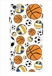 Noise Sports Ball Doodles Printed Cover for Apple Iphone 6S