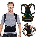 Haltungstrainer, Tencoz Geradehalter zur Haltungskorrektur für Eine Bessere Körperhaltung und Unterstützung des Rückens - Gegen Nacken -und Schulterschmerzen für Damen und Herren