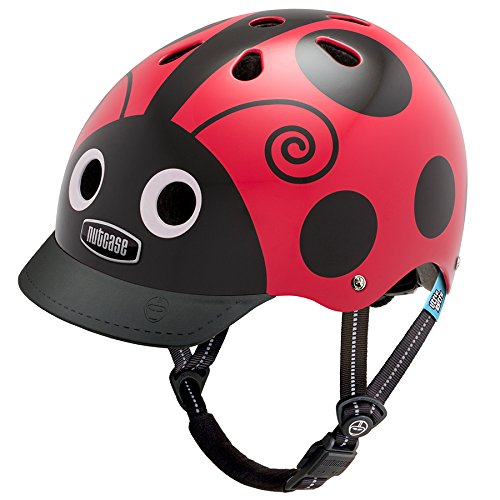 Little Nutty by Nutcase Kinder Gen2 Street Helm, Ladybug, 46-52 cm, LNG2-1092-XS