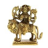 ShalinIndia Antik Göttin Durga Metall Skulptur