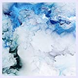 BHXINGMU Benutzerdefinierte Größe Wandbild Blue Cloud 3D Wallpaper Wohnzimmer Hintergrund Wanddekoration Wasserdicht 190 Cm (H) X 250 Cm (W)