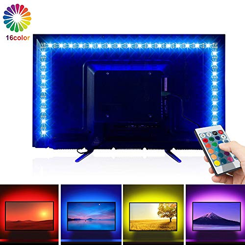LED Tira TV, opamoo Tiras LED Iluminación