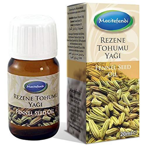 Fenchel Bio Ätherisches Öl (Mecitefendi Fenchelöl (foeniculum vulgare) 20ml)