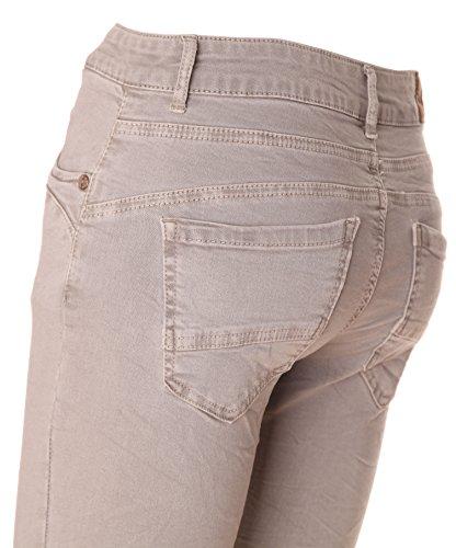 """Jeans pour femme coupe boyfriend aladin harem pantalon chino baggy taille basse boyfriendjeans boyfriendhose batik look """"destroyed"""" Vert - Menthe"""