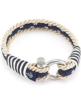 CONSTANTIN NAUTICS® HANDMADE maritimes Herrenarmband & Damenarmband inkl.Geschenkbox I Modeschmuck Maritim Freundschaftsarmband...