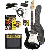 Volt EG100 E-Guitar Set - Set básico con guitarra eléctrica, amplificador, guía