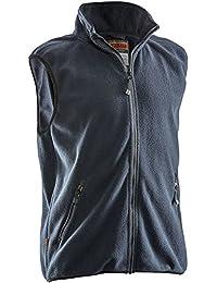 jobman Forro Polar Chaleco, 1pieza, 4x l, color azul marino, 750175–6700–10