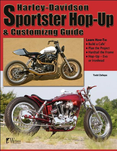 Harley-Davidson Sportster Hop-Up and Customizing Guide por Todd Zallaps