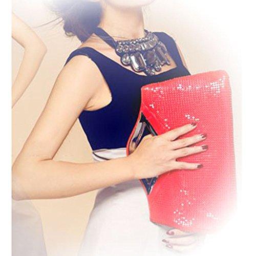 Yiwa , Damen Clutch Rot
