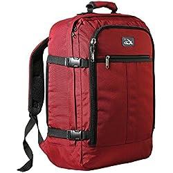 Cabin Max 30L Metz Sac à Dos Cabine - Bagage à Main - Léger et Spacieux - Taille 45 x 35 x 20 cm (Rouge)