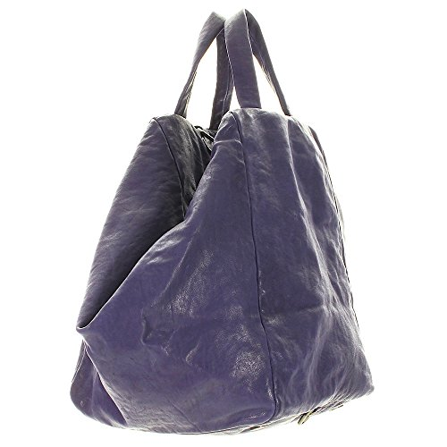 Liebeskind Toda Shopper Sac à main Fourre-tout cuir 40 cm iris purple