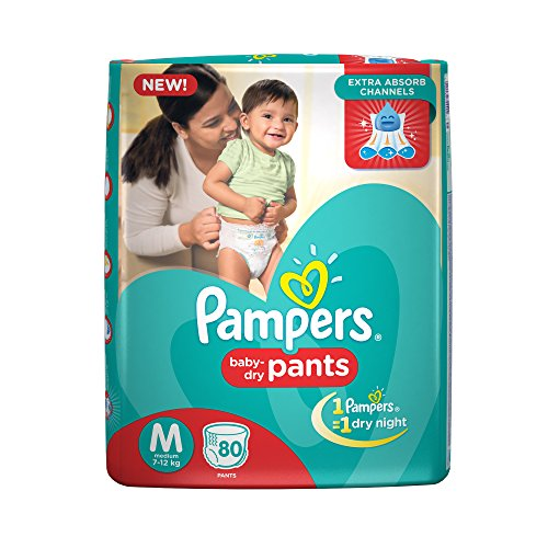 - 513v3C 2B36vL - Pampers Medium Size Diapers Pants (80 Count) home - 513v3C 2B36vL - Home