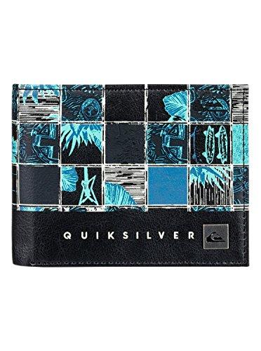 Quiksilver - Cartera de dos secciones - Hombre - M - Azul