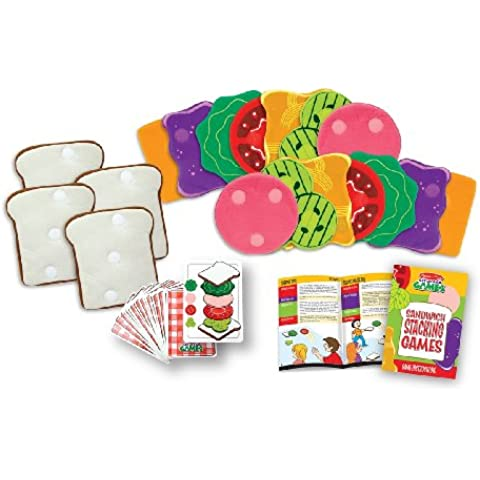 melissa&doug 13061 sandwich stacking games - Cialde Buoni