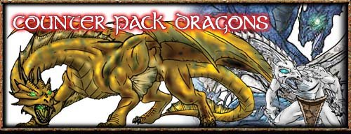 Dragons: Counter Pack (Fiery Dragon)