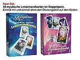 Lenormandkarten im Doppelpack: Angelinas 40 mystische Lenormandkarten & Angelinas 40 mystische Beginner-Lenormandkarten jeweils mit Zusätzlichen 9 Karten Zum Tauschen (2 Neuauflage)