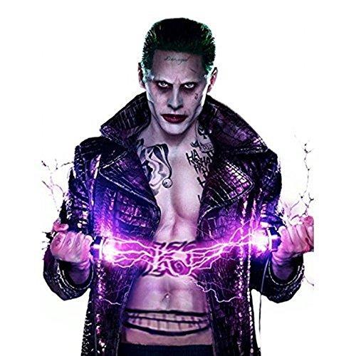 Jared Leto S Joker Empire Long Coat Costume Sucide Squade