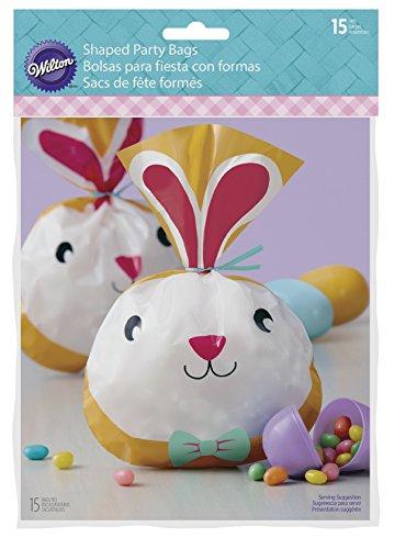 Wilton Ostern Bunny Treat Taschen, Mehrfarbig, 15Stück (Ostern Behandeln Taschen)