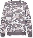 Amazon Essentials Patterened Crewneck Fleece Sweatshirt - Sweat-shirt - Homme