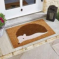 Smart Garden Spike the Hedgehog Coir Doormat Indoor Outdoor Door Mat 75x45cm