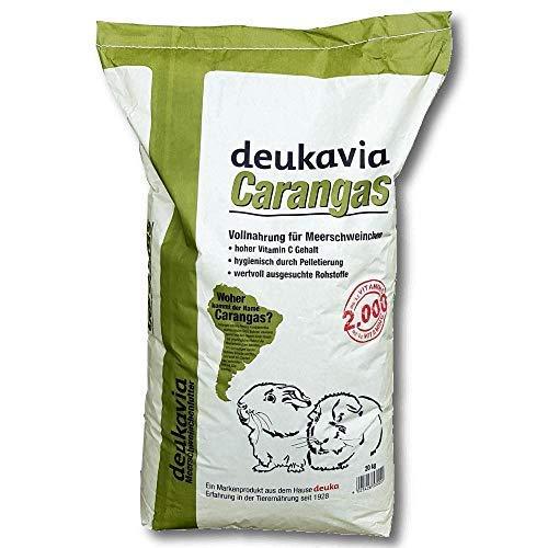 Deukavia Carangas Meerschweinchenfutter, 20 kg mit Vitamin C