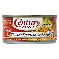 ‏‪Century Tuna Chunks Spanish Style  - 184 gm‬‏