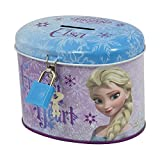 Frozen, salvadanaio in latta ovale della principessa Elsa