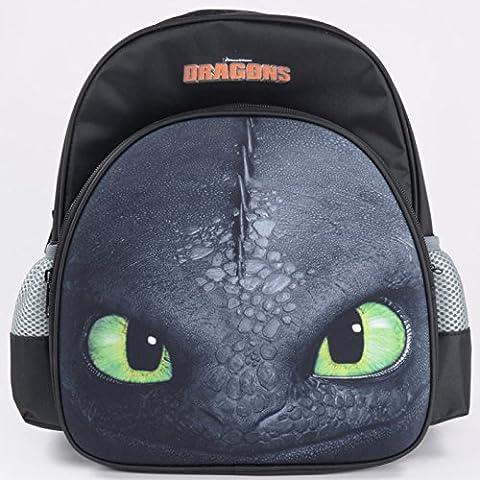 Dreamworks Dragons Krokmou Toothless sac à dos enfant