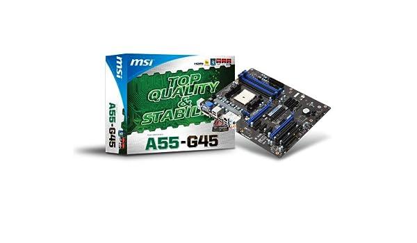 MSI A55-G45 AMD HDMI Audio Drivers for Windows Mac