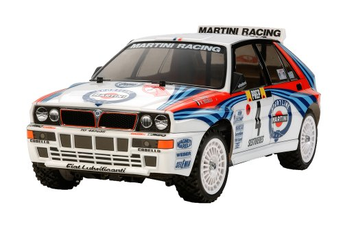 TAMIYA 300058570 - 1:10 RC Lancia Delta HF Integrale TT-02 (10 Car Rc 1)