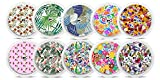 Freestyle Libre Sticker - 10er Set'Flowers' | Diasticker