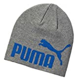 Puma Beanie Mütze Wintermütze Strickmütze Skimütze Unisex Snowboard No.1 Hellgrau