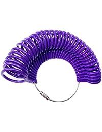 Baanuse Ringmaß Ringgrößenmesser Ringgröße, UK Sizes A-Z6, Kunststoff 32Pcs