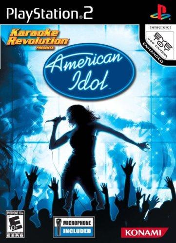 Karaoke Revolution American Idol Bundle für PlayStation 2 Konami American Idol Games