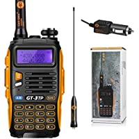 Baofeng  GT-3TP Mark III - Walkie-Talkie, 8W, Negro