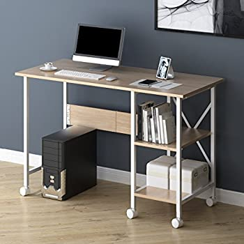 Cherry Tree Furniture 2In1 Extending Folding Computer Office