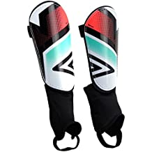 Umbro Neo Shield, canilleras blancas, negras, rojas, marino, pequeño