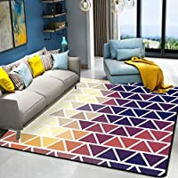 HYRL Alfombra nórdica Abstracta geométrica, 3D Impreso Alfombra de Gran tamaño para casa Moderna Vida Alfombra Espesar Sala de Estar alfombras Arte Decor,#12,160230