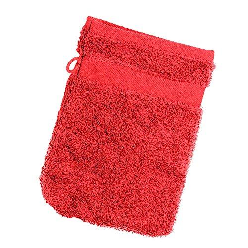 Jassz - Gant de toilette (350g/m²) (Taille unique) (Rouge)