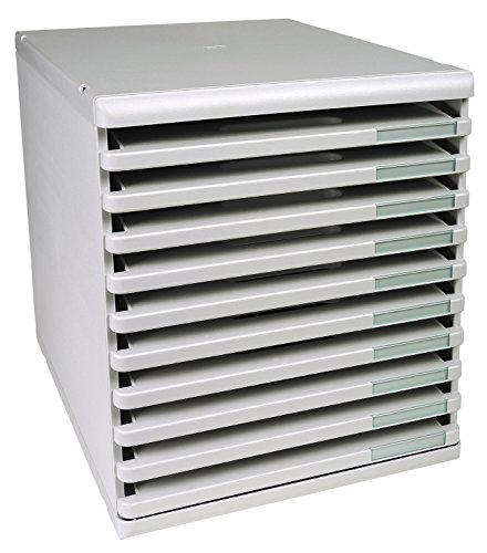 Exacompta Modulo - Mueble archivador 10 cajones tamaño