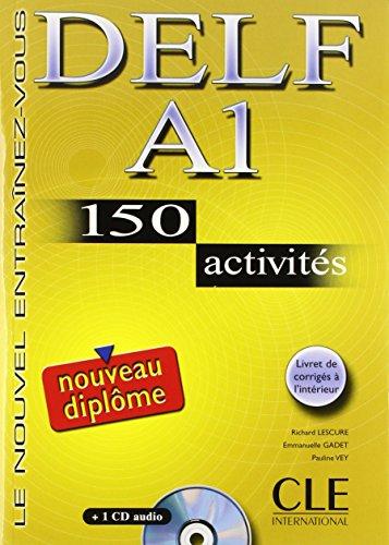 DELF A1 : 150 activits (1CD audio)