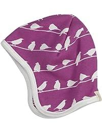 """Pigeon Organics for Kids Baby-Wendemütze Bio-Baumwolle GOTS """"Vögel"""", pink"""