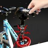 Alarme avec détecteur de mouvement - Sans fil, avec télécommande - Antivol - Sécurité de votre moto, vélo ou véhicule - Chargement USB - Alarme électrique - Capteur de vibration