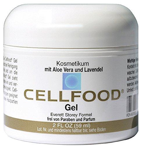 Zellnahrung Sauerstoff Gel, 2-Unzen Jar Cellfood Oxygen Gel, 2-Ounce Jar