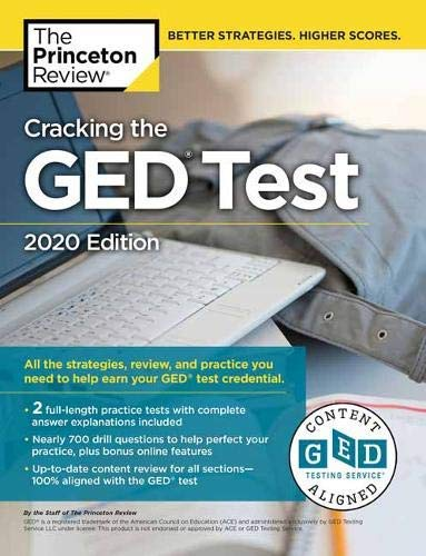 Cracking the GED Test with 2 Practice Tests, 2020 Edition (College Test Preparation) (English Edition)